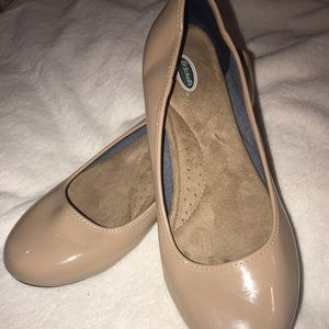 Dr. Scholl's nude flats like new